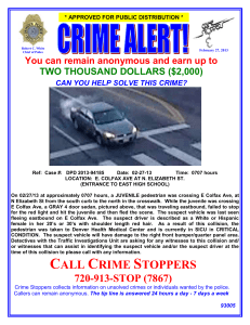 CRIME ALERT! - WordPress.com