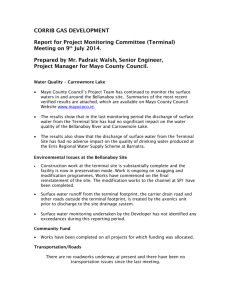 Suspended Solids - Mayo County Council
