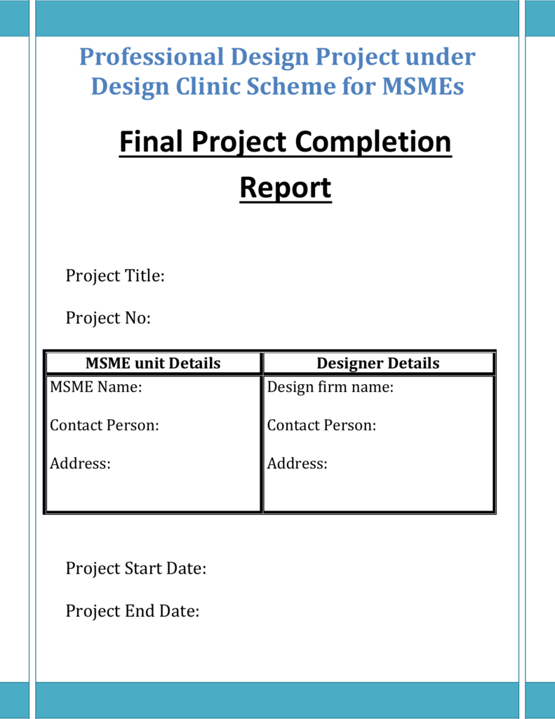 Final Project Report Format