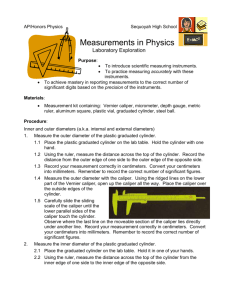 Measurements in Physics