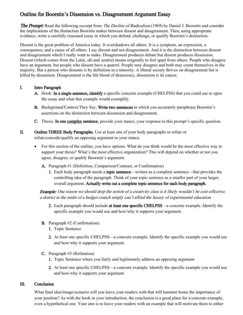 stance essay examples