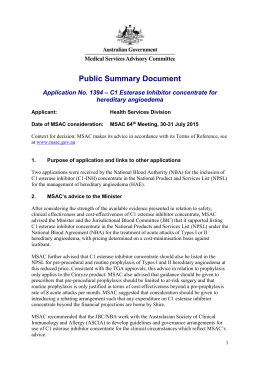 Public Summary Document (Word 191 KB)