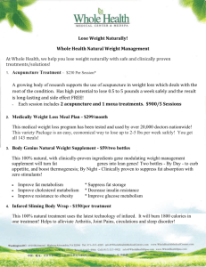 Lose Weight Naturally! - Whole Health Medical Center