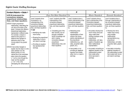 8th Grade Rubric - Washington State ESDs