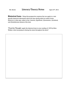 literary_theory_notes_handout_3