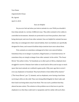 animal cruelty in zoos essay