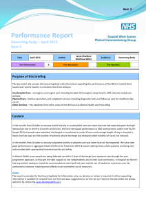 05b - front sheet for Performance Report April 2013