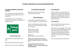 Personal Emergency Evacuation Plan Students
