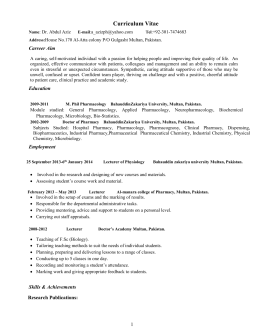 Food Services Manager Sample Resume