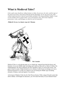 INFORMATIONAL TEXT What is Medieval Tales