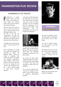 frankenstein play review
