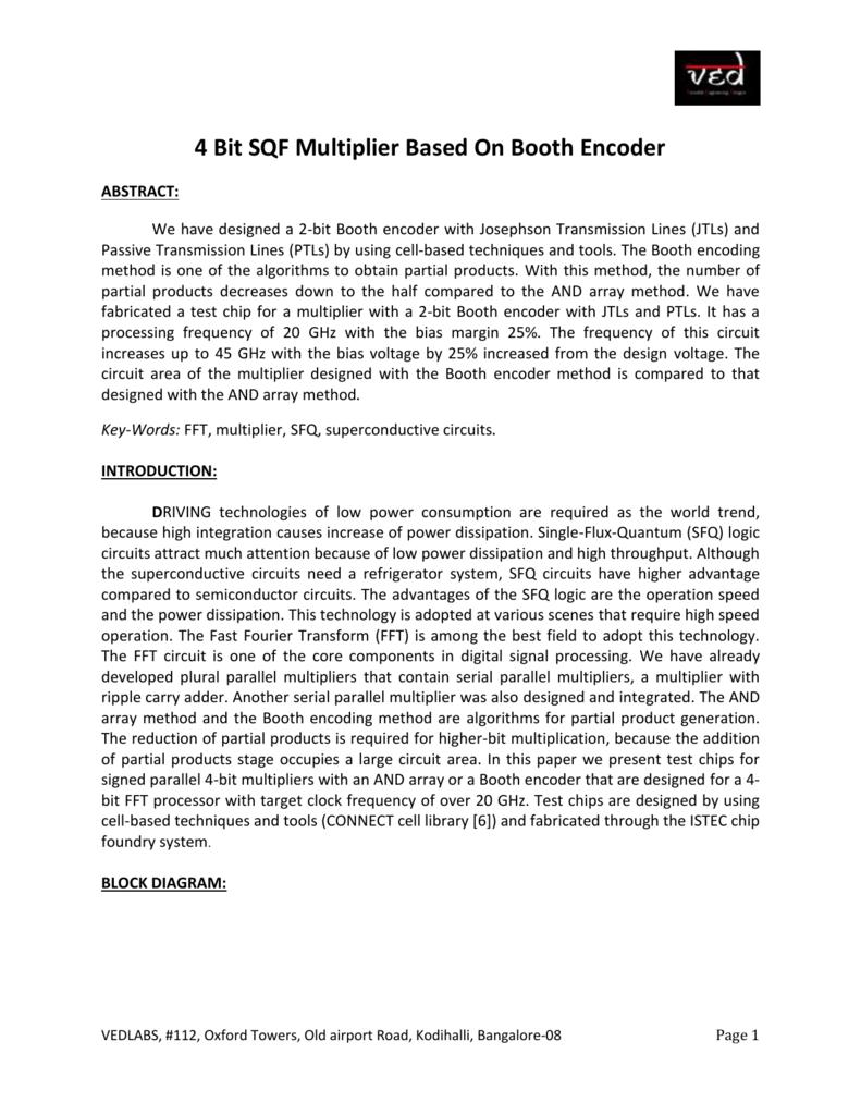 4 Bit Sqf Multiplier Based On Booth Encoder Logic Diagram 007195123 1 5edc66868dd9cf93547c4f5f072b7fcc