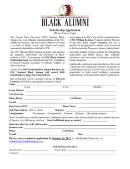 HERE - Florida State University Black Alumni