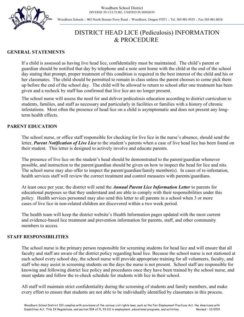 Dear Parents / Guardians, - Woodburn School District