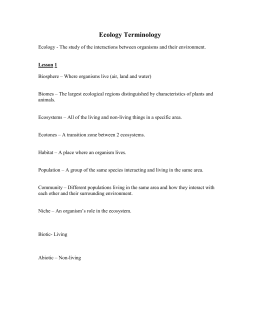 Symbiosis Worksheet - Mrs. Kupronis