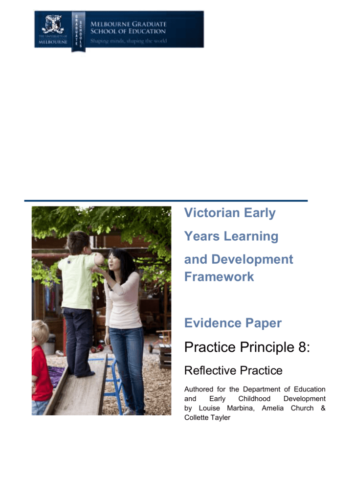 Reflective practice department of education and early childhood malvernweather Image collections