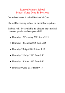 School Nurse Drop-in Sessions