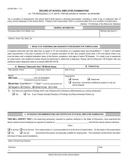 tb test information
