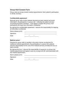Group Visit Consent Form