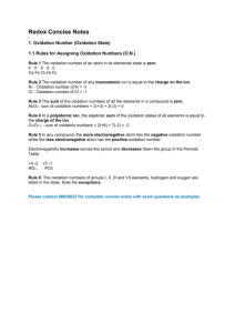 Redox-Concise-Notes