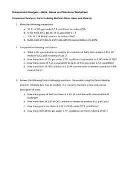 Stoichiometry Hamburger analogy worksheet