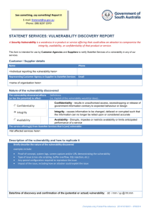 StateNet Services – Vulnerability Discovery Report