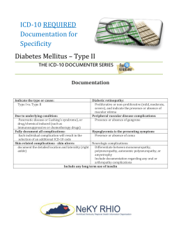 Pdf Coding Diabetes Mellitus In Icd 10 Cm Improved Coding For Complements Present Medical Science