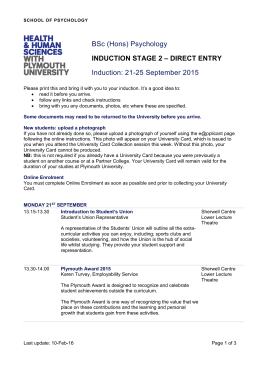 induction stage 2 – direct entry