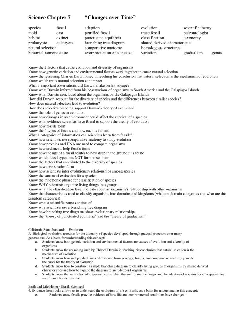 Worksheets Binomial Nomenclature Worksheet science chapter 7 over