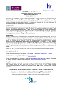 SFI_TIDA PDR NUIG 11114 - University Vacancies Ireland