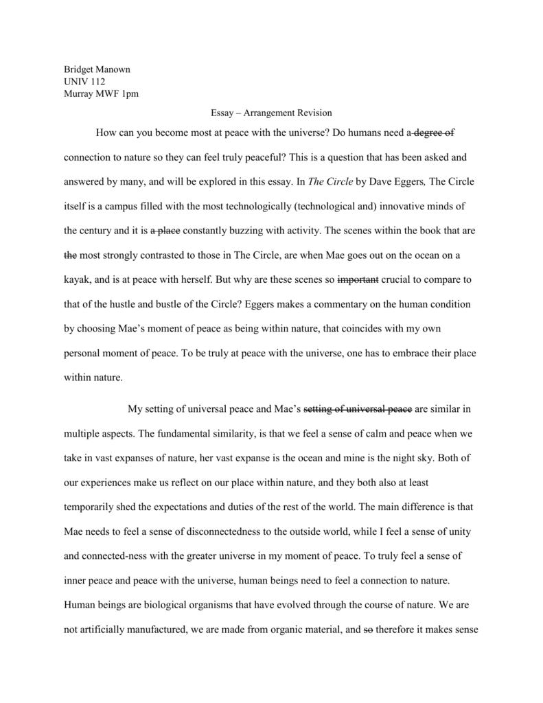 Essay connection format paper term