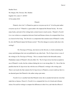 ancient rome research paper