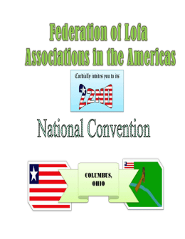 Federation of Lofa Associations in the Americas