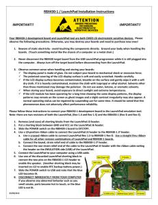 Tiva C Series TM4C123G LaunchPad Evaluation Kit User`s Manual
