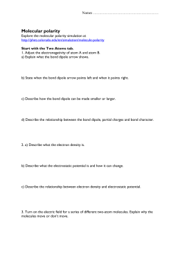 Molecular Geometry Review Packet Answer Key Title Of Worksheet