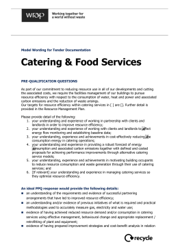 Catering & Food Services