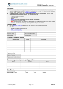 MM025 - UCT Administrative Forms