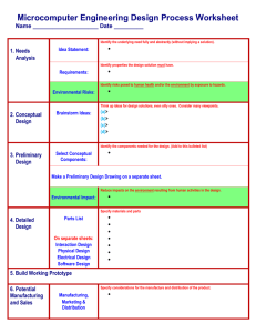 The Engineering Design Process Worksheet - arduino-info