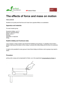 The effects of force and mass on motion printable pages