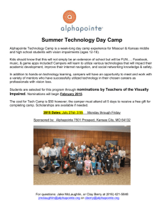 2015 Technology Camp Registration