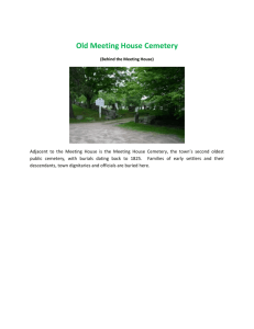 Old Meeting House Cemetery