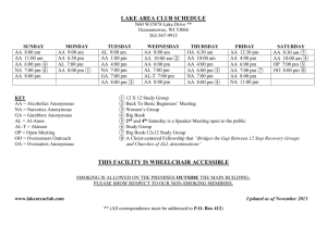 lake area club schedule