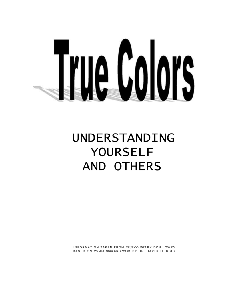 What Another Word For True Colors [ 1024 x 791 Pixel ]