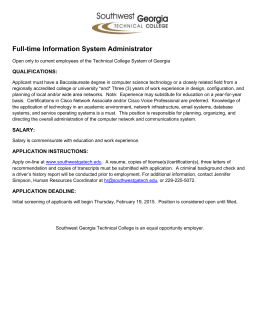 Full-time Information System Administrator