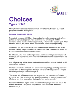 Choices Types of MS - MS-UK