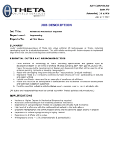Job Description - Dover Artificial Lift