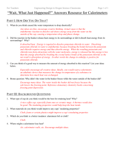 HS Calorimeter Wait What Just Happened Answers Resource v1.1