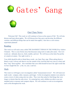 Our Class News