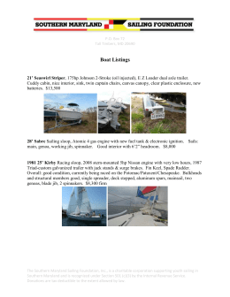 Boat Listings - Sailing Center Chesapeake