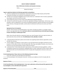 Code of Conduct Agreement - Vista PEAK Preparatory